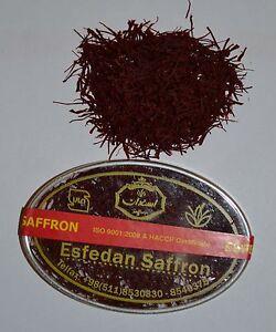 5g Safran Zafferano Saffron Safranfäden Top Qualität Sargol Persia Mashad