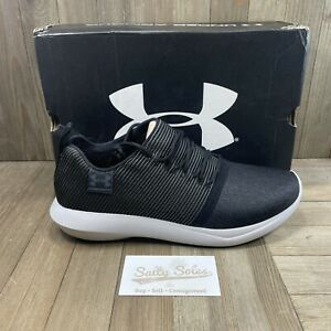 Under Armour Charged All-Day Gray Running Shoes Sneakers Womens Size 10 *NEW*