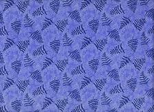 Patchworkstoff - by Moda - Blau - Blätter - Breite 110cm - Meterware