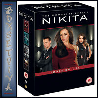 NIKITA - COMPLETE SEASONS 1 2 3 & 4 **BRAND NEW DVD BOXSET ***