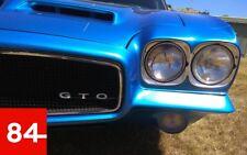 Pontiac Gto Bonneville Grand Ville 4x Set Fanali Marcatura e USA Eu +