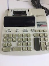Texas Instruments Printing Calculator Ti-5045 S Super View 12 Digit 2 Color