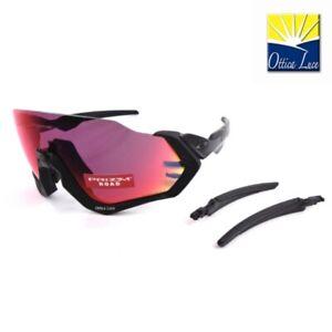 OAKLEY FLIGHT JACKET 9401 01 Prizm Road Sports Racing Cycling 940101 Sunglass