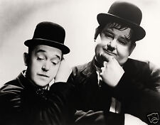 Laurel and Hardy 10x8 black and white photograph print