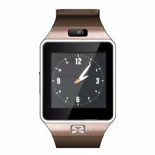 NEW W09 1.54'Touch Unlock Screen Quad band Bluetooth Watch Phone cell Phone