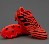 NEW Adidas Men's Nemeziz Messi 17.3 FG Soccer Shoes Black/Orange S80604 Size 8.5