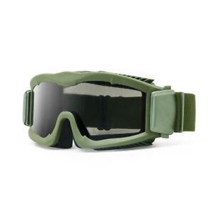 Tactical Army Eyeshield Armed Sunglasses Alpha Ballistic Military 3 Lens Goggle