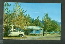 Old Postcard Big Bend Resort Parker Dam 1955 Chevy Car Travel Trailers 408010