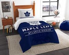 Toronto Maple Leafs - 2 Pc TWIN Size Printed Comforter/Sham Set