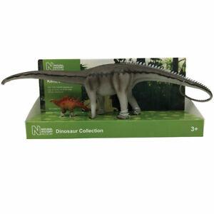 Natural History Museum NHM Diplodocus and Kentrosaurus model