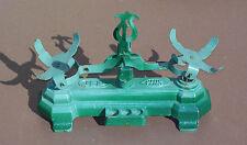 Ancien jouet balance JEP fonte & métal vert vintage jeu enfant marchande