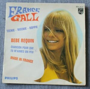 France Gall, teenie weenie boppie + 3, EP - 45 tours