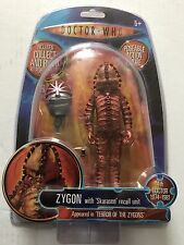 """DOCTOR WHO of  ZYGON Action Figure With """"Skarasen """" Recall Unit K1 Robot"""