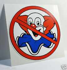 NO BOZOS Vintage Style DECAL, Vinyl STICKER, rat rod, racing, hot rod