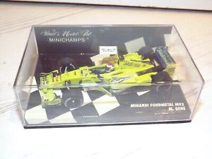 Minichamps 1/43 Minardi Fondmetal MO2 M.Gene Diecast Model