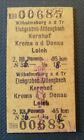 Eisenbahn Fahrkarte  1977   Wilhelmsburg an der Traisen - Loich