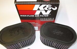 Suzuki GSXR1100 89 to 92   K & N Dual Air Filters. RU-2922 the genuine article!