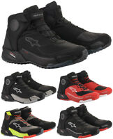 Alpinestars Cr-X Drystar Scarpe Moto Impermeabile Sneaker Esterno Look