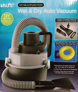 Shift3: 12V Multifunction Wet & Dry Auto Vacuum