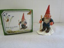 Classic Gnomes & Friends Vintage Elf Gnome Figure Alberto The Ski Instructor