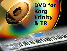 D V D sounds sound cd for Korg trinity ( plus, pro, pro-x ) tr rack & utilities
