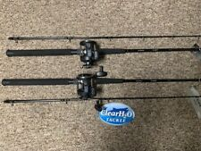 2PK NEW SHIMANO TDR 9' MEDIUM W/ MAGDA PRO MA-30DX SALMON WALLEYE