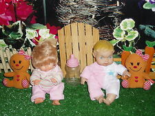 Uneeda Baby Doll & Blonde Baby & Build A Bear Gingerbread Girls - Rhtf