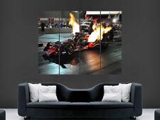 Drag Racing POSTER AUTO DRAGSTER USA velocità Wall Art Print PICTURE gigante di fuoco