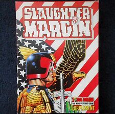 1987 Judge Dredd Slaughter Margin Roleplaying Scenario Games Workshop 2000 AD GW
