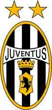 "Juventus Italy Soccer Football Bumper Sticker 3"" x 6"""