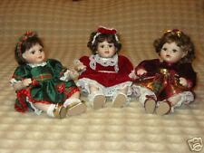 Marie Osmond's Generations Tiny Tot Trio Dolls