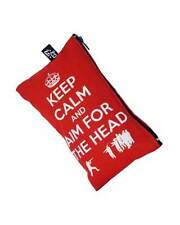 Darkside Clothing Keep Calm Aim For The Head Zombie Zipped Cosmetic Make Up Bag