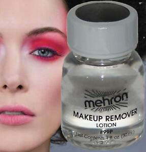 Makeup remover lotion theatrical beauty cosmetic face cleanser clown travel size