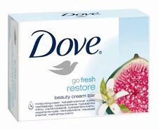 5x Dove Go Fresh Restore Soap Bars Beauty Moisturizing Cream Bar - 135g 4.75oz