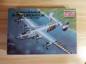 MINICRAFT 14402 Consolidated B-24J LIBERATOR 1/144 Model Aircraft Kit