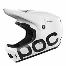 POC Coron Full Face DH Bike Helmet, Hydrogen White, Medium/Large