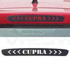 Adesivo sticker fibra carbonio terzo stop luce freno auto tuning car Seat Cupra