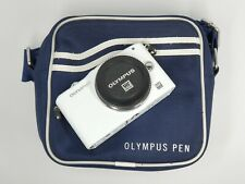 Olympus PEN E-PM1 Micro 4/3 Digital Camera - White (Body Only) *1525 SHOTS*