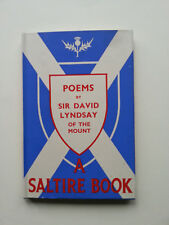 Poems by Sir David Lyndsay of the Mount 1st 1948 Saltire Society Maurice Lindsay