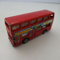 Model Car Matchbox Leyland Titan
