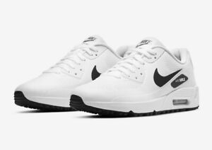 """Nike Air Max 90 G """"White with hint of black"""" Men's Golf Shoes - Limited Stock"""