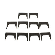 """DCT Wood Clamps 1.5"""" Inch Pinch Dog 10-Piece Set Woodworking Glue Up Pinch Dogs"""