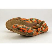 Lucky Brand Emmie  Women US 7.5 Orange Ballet Flats Pre Owned  1736
