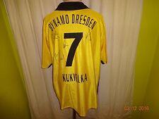 DINAMO Dresda Gool maglia di casa 2003/04 + N. 7 kukielka + MANO FIRMATI TG. XXL