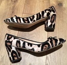 New JCREW COLLECTION Sophia Pumps In Calf Hair Brown Tan F7999 10 SOLDOUT!