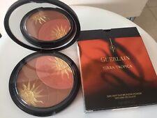 Guerlain Terra Tropica Sun Light Duo Bronzing Powder Face & Decollete New In Box