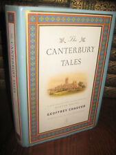 1st Edition CANTERBURY TALES Geoffrey Chaucer MODERN LIBRARY Classic FIRST PRINT