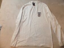 England Vintage Admiral Football Shirt L/S Size Xl Xlarge Adult World Cup 66 L6