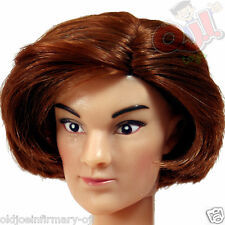 Yamato Anna Female Action Figure Head Red Hair Fair Skin 1:6 Scale (1043a4)