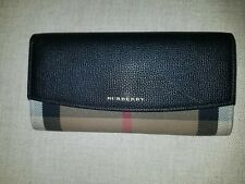 AUTHENTIC PREOWNED Burberry House Check Porter Continental Wallet- Black